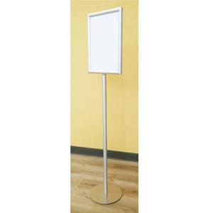 free standing double sided snap poster frame with stand vtex